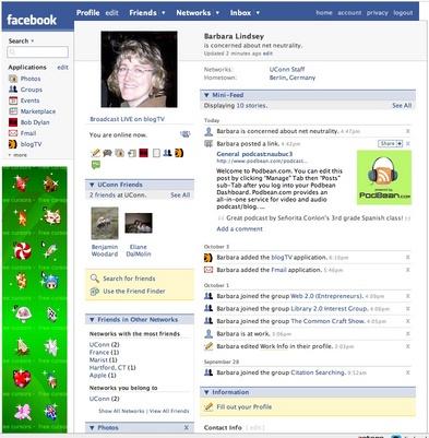 Barbara's Facebook Page