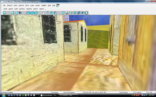 Van Gogh World in Second Life