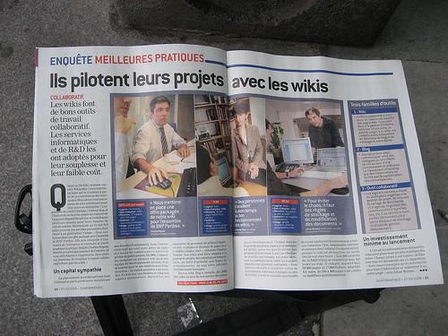 Les wikis dans la presse by Christophe Duchamp