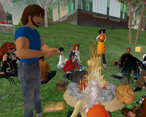 Talking About Storytelling by NMC Secondlife