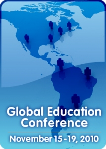 Global Education Conference 2010 Americas Map