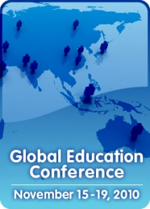 Global Education Conference 2010 Asia Map