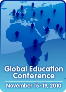 Global Education Conference 2010 Europe Africa Map